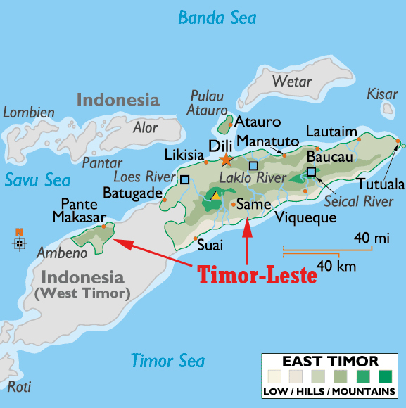 Timor-Leste (Insulinde's blog)